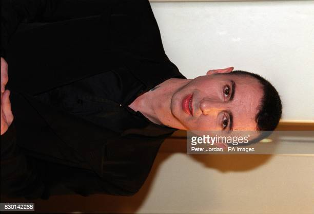 Marc Almond former member of 80's pop group Soft Cell at the Rudolph Valentino Awards at the Grosvenor House Hotel London The awards commemorate the...