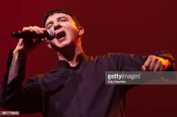 Marc Almond performs at The New Theatre on October 15 2017 in Oxford England