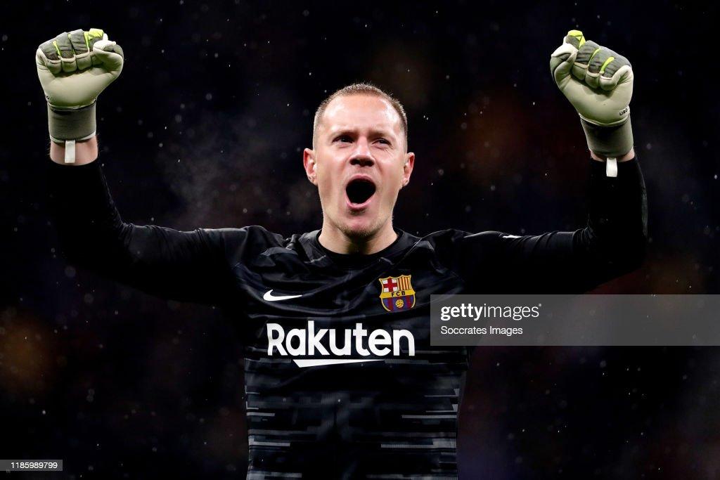 Atletico Madrid v FC Barcelona - La Liga Santander : ニュース写真
