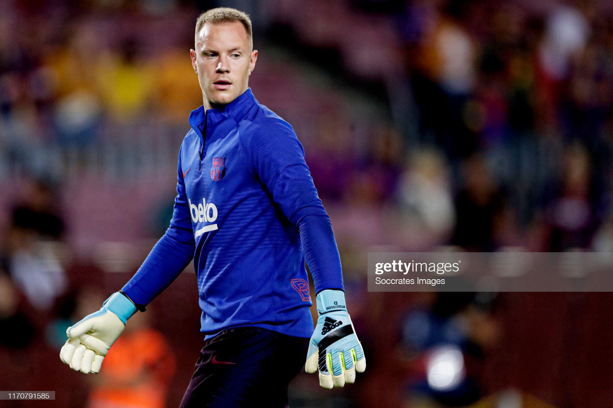 صور مباراة : برشلونة - فياريال 2-1 ( 24-09-2019 )  Marc-andre-ter-stegen-of-fc-barcelona-during-the-la-liga-santander-picture-id1170791585?s=2048x2048