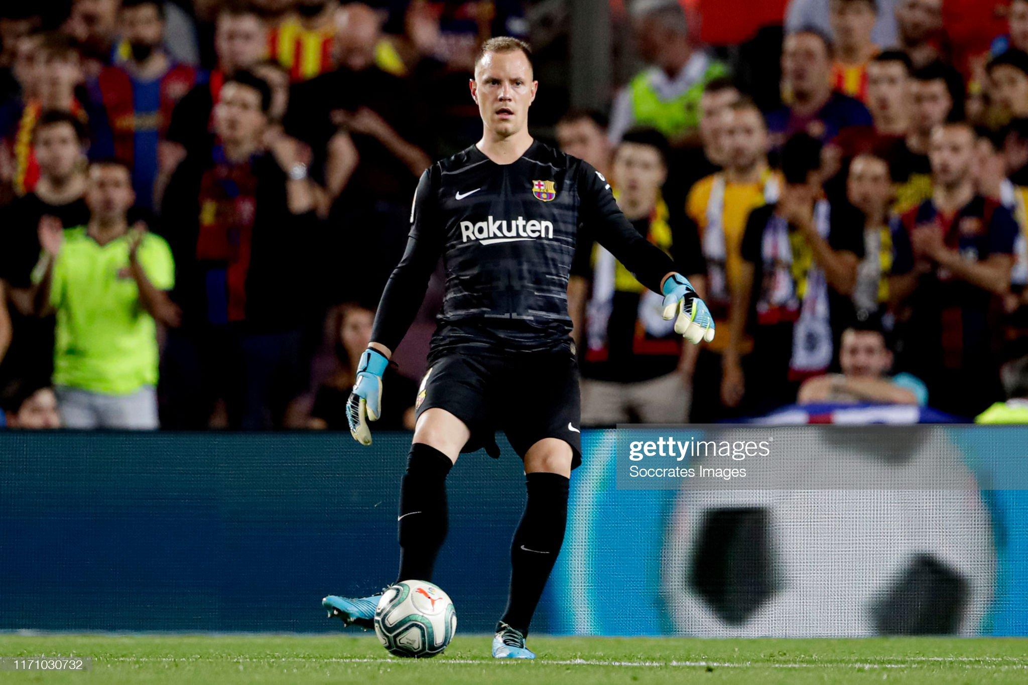 صور مباراة : برشلونة - فياريال 2-1 ( 24-09-2019 )  Marc-andre-ter-stegen-of-fc-barcelona-during-the-la-liga-santander-picture-id1171030732?s=2048x2048
