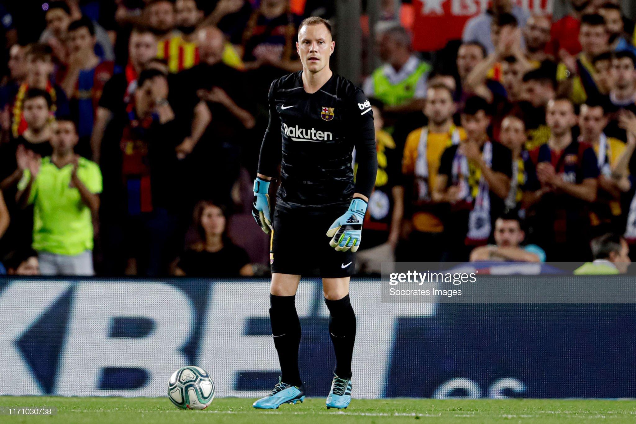 صور مباراة : برشلونة - فياريال 2-1 ( 24-09-2019 )  Marc-andre-ter-stegen-of-fc-barcelona-during-the-la-liga-santander-picture-id1171030738?s=2048x2048