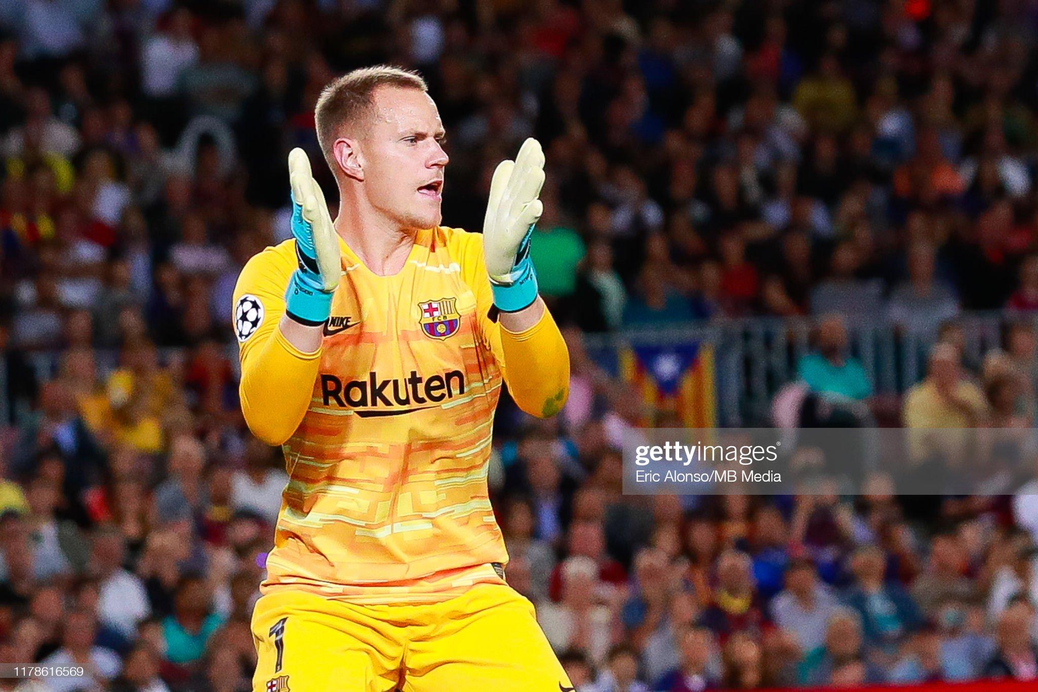 صور مباراة : برشلونة - إنتر 2-1 ( 02-10-2019 )  Marc-andre-ter-stegen-of-fc-barcelona-reacts-during-the-uefa-league-picture-id1178616569?s=2048x2048