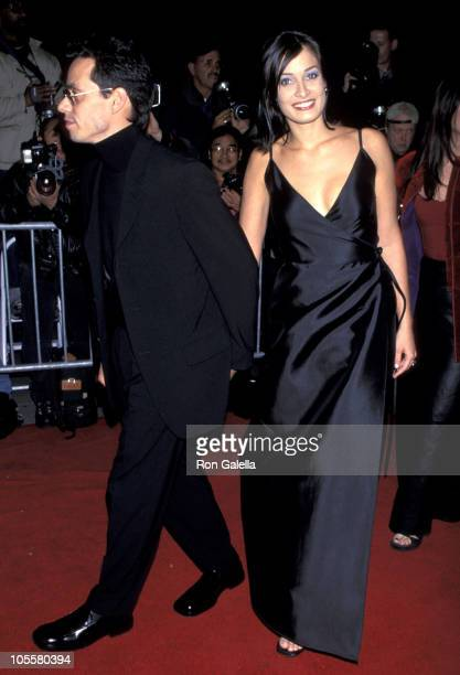 Marc Anthony and Dayanara Torres during 'Bringing Out the Dead' Premiere at Ziegfeld Theater in New York City New York United States