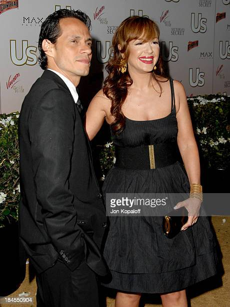 Marc Anthony and Leah Remini during Us Weekly Presents Us' Hot Hollywood 2007 Arrivals at Sugar in Hollywood California United States