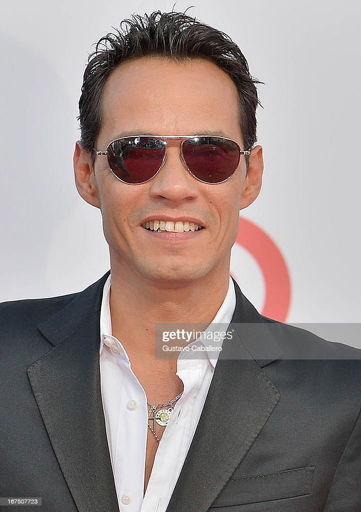 Marc Anthony arrives at Billboard Latin Music Awards 2013 at Bank United Center on April 25, 2013 in Miami, Florida.
