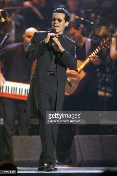 Marc Anthony at the 2000 Grammy Awards held in Los Angeles CA on Febuary 23 2000 Photo by Frank Micelotta/ImageDirect
