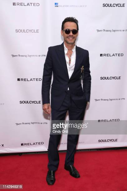 Marc Anthony attends as the Hasty Pudding Institute Of 1770 honors Marc Anthony at the 7th Annual Order Of The Golden Sphinx Gala at The Pierre A Taj...