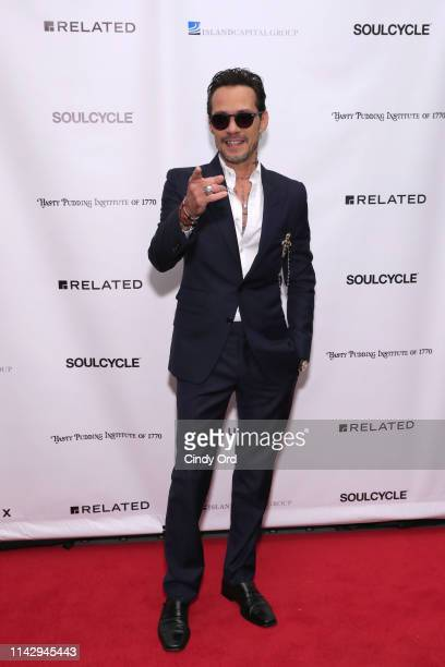 Marc Anthony attends as the Hasty Pudding Institute Of 1770 honors Marc Anthony at the 7th Annual Order Of The Golden Sphinx Gala at The Pierre, A...