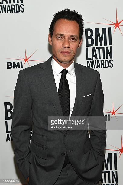 Marc Anthony attends BMI's 22nd Annual Latin Music Awards at Fountainbleau Miami Beach on March 31 2015 in Miami Beach Florida