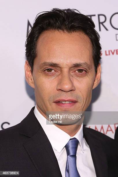 Marc Anthony attends the 2015 Maestro Cares Gala at Cipriani Wall Street on February 17 2015 in New York City