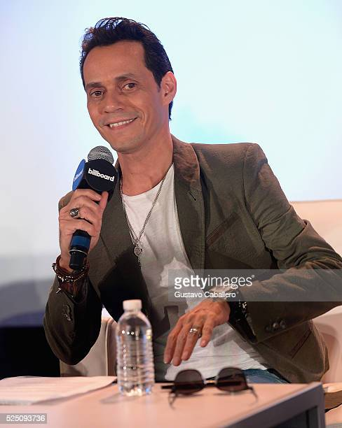 Marc Anthony attends the Billboard Latin Conference 2016 at Ritz Carlton South Beach on April 27 2016 in Miami Beach Florida