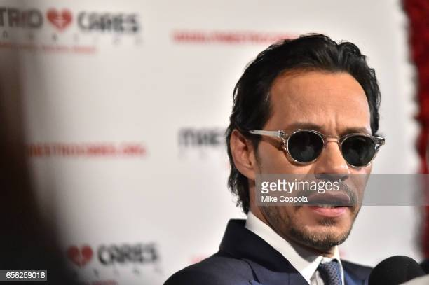 Marc Anthony attends the Maestro Cares Foundation's fourth annual 'Changing Lives/Building Dreams' gala at Cipriani Wall Street on March 21 2017 in...