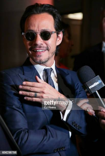 Marc Anthony attends the Maestro Cares Foundation's Fourth Annual Changing Lives/Building Dreams Gala at Cipriani Wall Street on March 21 2017 in New...
