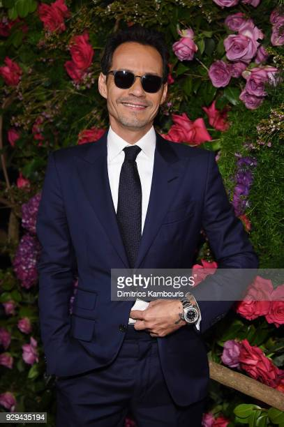 Marc Anthony attends the Maestro Cares Third Annual Gala Dinner at Cipriani Wall Street on March 8 2018 in New York City
