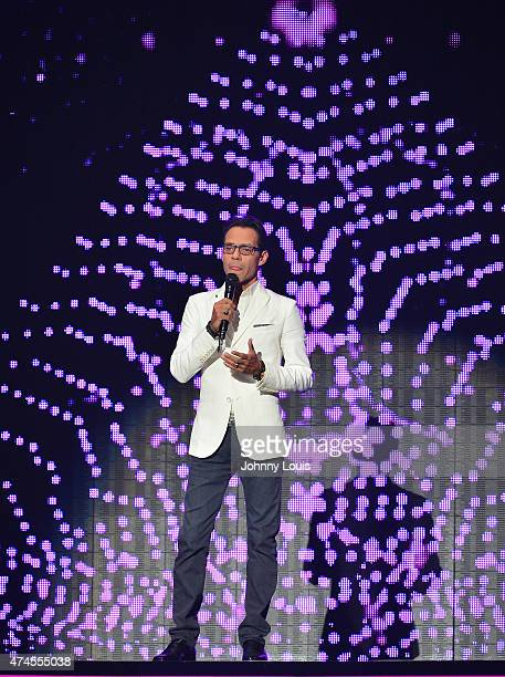 Marc Anthony onstage at the 2015 Billboard Latin Music Awards presented by State Farm on Telemundo at Bank United Center on April 30 2015 in Miami...