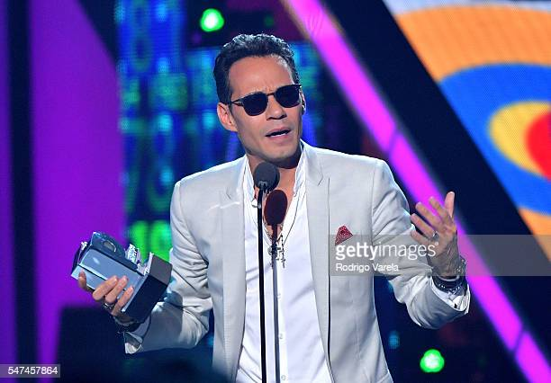Marc Anthony onstage at the Univision's 13th Edition Of Premios Juventud Youth Awards at Bank United Center on July 14 2016 in Miami Florida