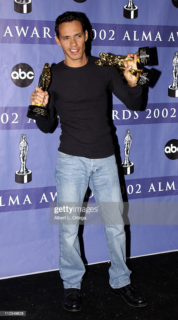 Marc Anthony, Outstanding Male Performer, Oustanding Performance In A Music, Variety Or Comedy Special, and Spanish Language Album Of The Year