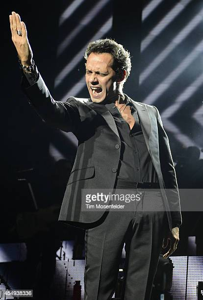 Marc Anthony performs at the Concord Pavilion on September 7 2014 in Concord California