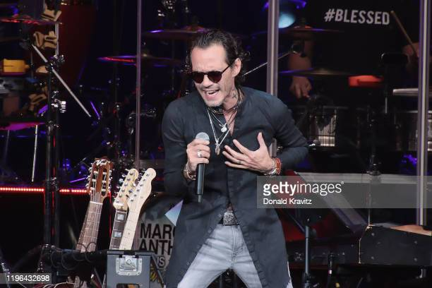 Marc Anthony performs in concert in the Etess Arena at Hard Rock Hotel & Casino Atlantic City on January 25, 2020 in Atlantic City, New Jersey.