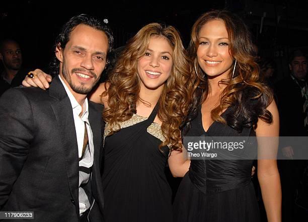 Marc Anthony Shakira and Jennifer Lopez **Exclusive Coverage**