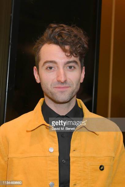 Marc Antolin attends The Olivier Awards 2019 nominees luncheon at The May Fair Hotel on March 08 2019 in London England