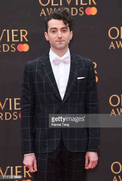 Marc Antolin attends The Olivier Awards 2019 with MasterCard at Royal Albert Hall on April 07 2019 in London England