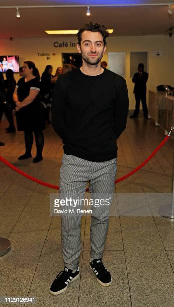 Marc Antolin attends the press night after party for Waitress The Musical at Cafe At The Crypt St MartinintheFields on March 7 2019 in London England