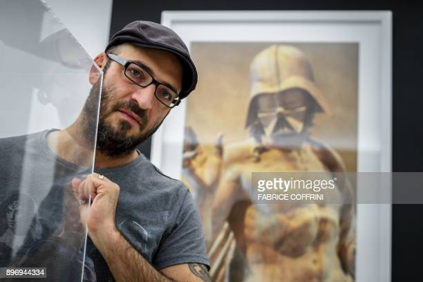 Marc Atallah Swiss director and curator of science fiction museum The Maison d'Ailleurs poses during the exhibition entitled 'I Am Your Father' on...