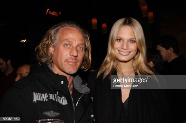 Marc Baker and Vicky Andren attend Lotus and Borgata Hotel Casino Host First Annual NYC Poker Championship at Lotus on January 18 2005 in New York...