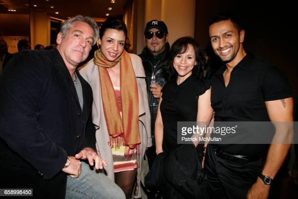 Marc Balet Drena De Niro Kevin Dornan Rosie Perez and Tony Alcindor attend TIA CIBANI and MARC BALET celebrate the publication of KENNY SCHARF at...