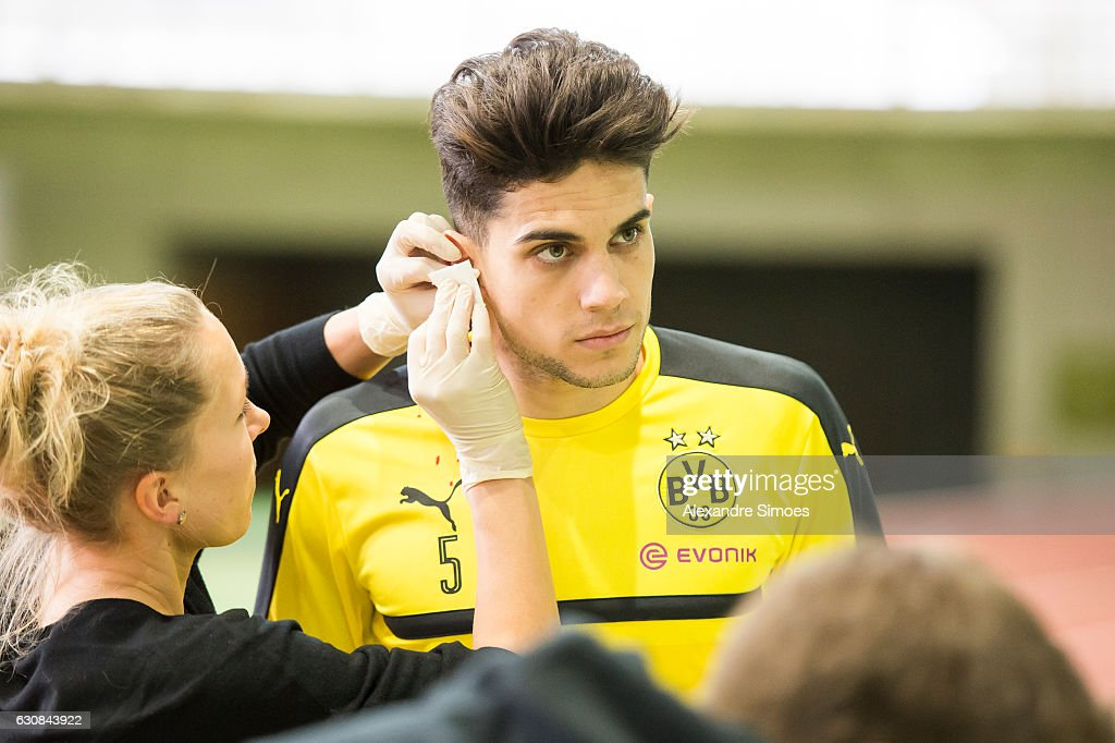 Borussia Dortmund - Lactate Test : News Photo