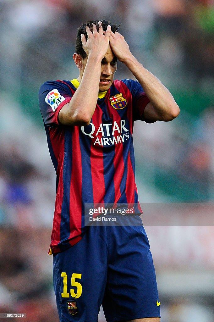 Elche FC v FC Barcelona - La Liga