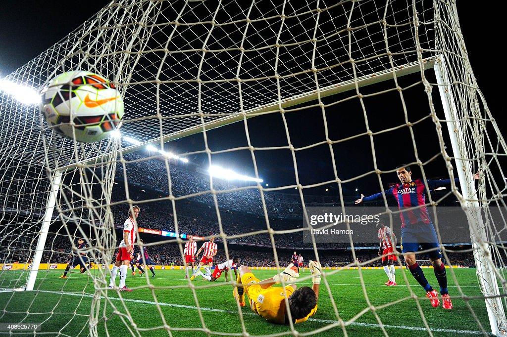 FC Barcelona v UD Almeria - La Liga : ニュース写真