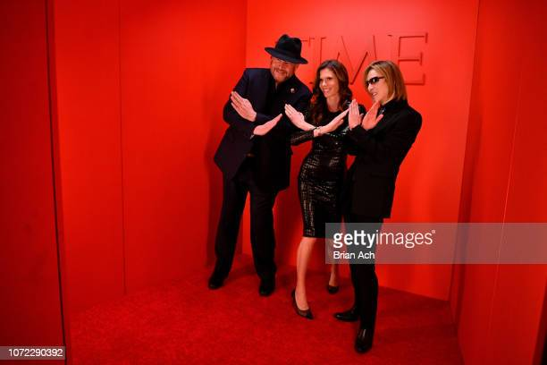 Marc Benioff Lynne Benioff and guest attend the TIME Person Of The Year Celebration at Capitale on December 12 2018 in New York City