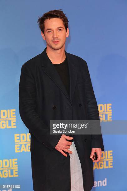 Marc Benjamin during the 'Eddie the Eagle' premiere at Mathaeser Filmpalast on March 20 2016 in Munich Germany