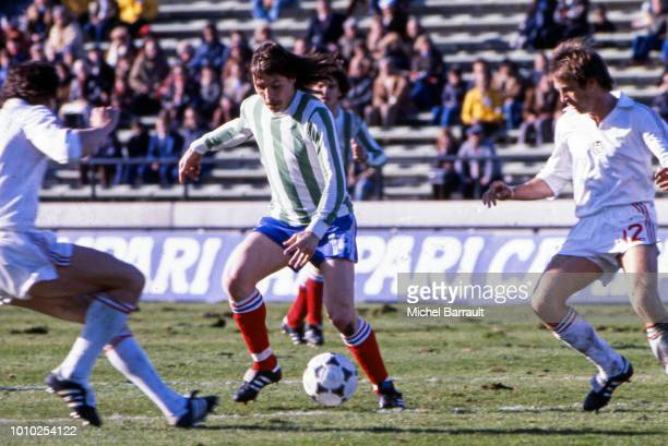 Marc Berdoll of France during the FIFA World Cup match between France and Hungary at Estadio Jose Maria Minella Mar del Plata Argentina on 10th June...