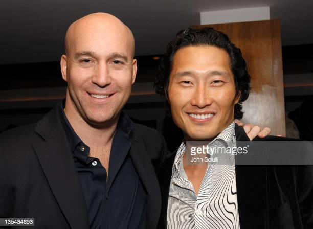 Marc Berger Associate Publisher of Details Magazine and Daniel Dae Kim