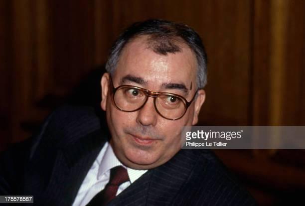Marc Blondel, General Secretary of FO union France. Marc Blondel secretaire general de FO France.