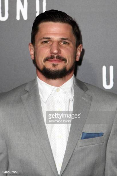 Marc Blucas attends the premiere of WGN America's 'Underground' Season 2 held at the Westwood Village on February 28 2017 in Los Angeles California