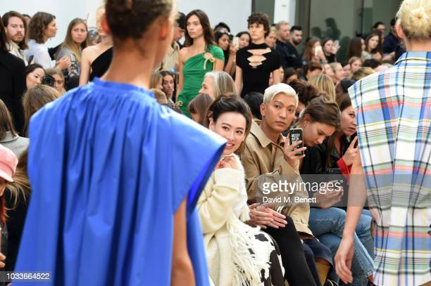 Marc Boelen Isabella Leong Bryan Boy and Renee Stewart attend the Ports 1961 Spring Summer 2019 Show on September 15 2018 in London England