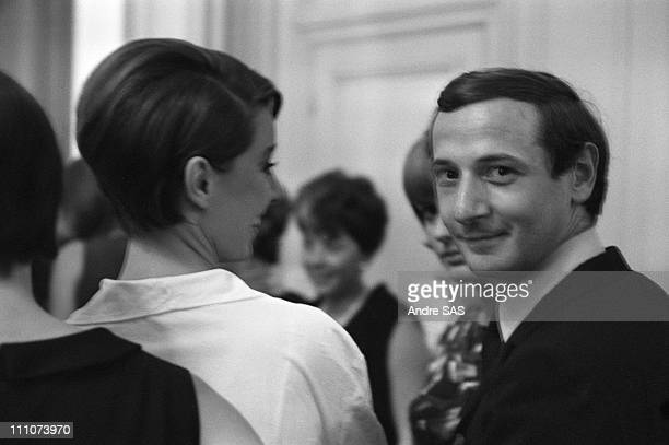 Marc Bohan artistic director of Christian Dior in the 1960 in Paris France in July 1964
