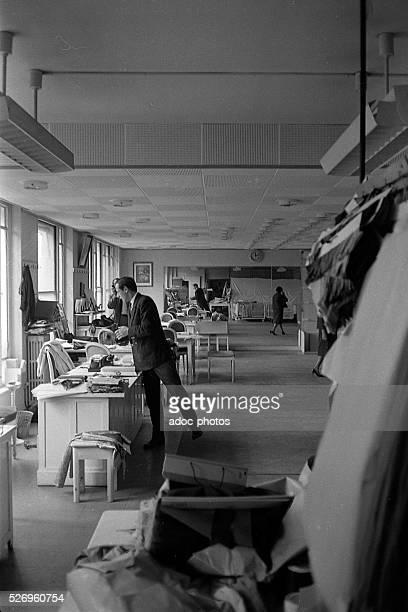 Marc Bohan French fashion designer at Dior Paris In 1961