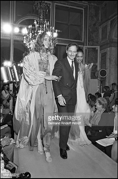 Marc Bohan presents the Christian Dior Spring Summer 1982 fashion collection