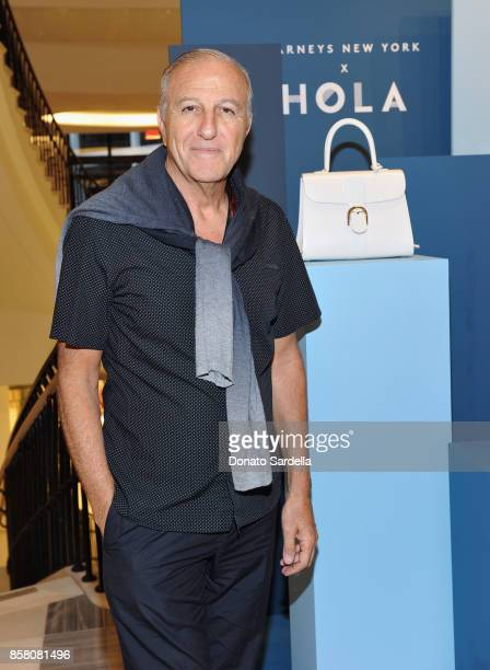 Marc Bohbot attends a Cocktail Event in support of HOLA Heart of Los Angeles hosted by Barneys New York at Barneys New York Beverly Hills on October...