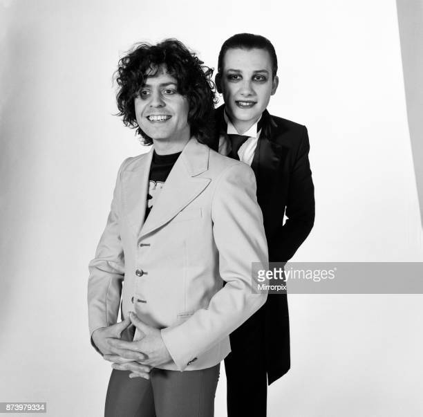 Marc Bolan and vocalist Dave Vanian of The Damned rock group, currently on a sellout UK tour, have formed an alliance both on and off stage where...