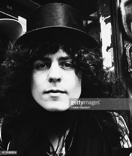 Marc Bolan lead singer of the pop/rock group TRex Marc Bolan the British singer guitarist and composer and lead vocalist with the pop/rock group TRex