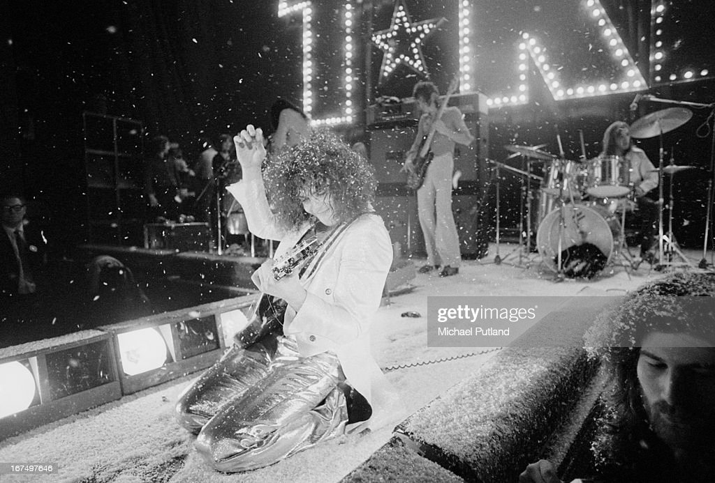 T-Rex On Stage : News Photo
