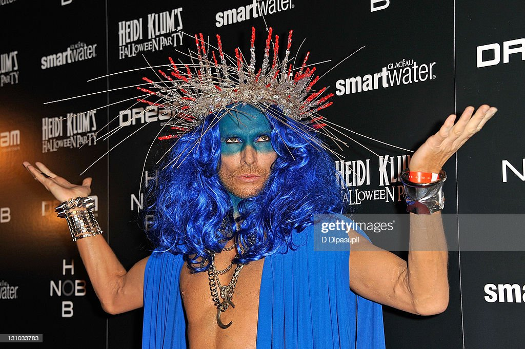 Marc Bouwer attends Heidi Klum's 12th annual Halloween party at the PH-D Rooftop Lounge at Dream Downtown on October 31, 2011 in New York City.
