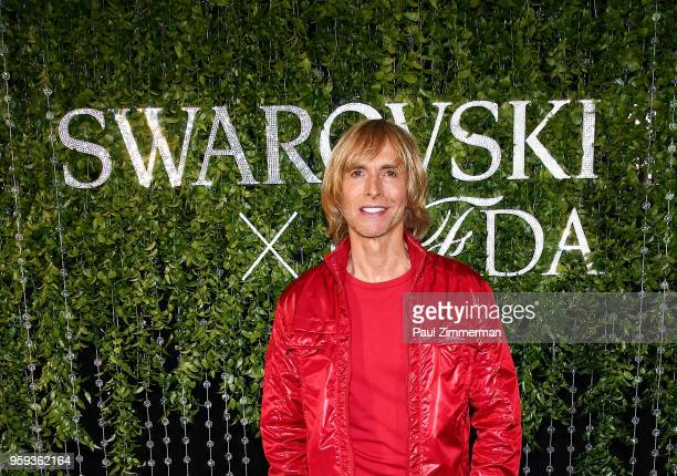 Marc Bouwer attends the 2018 CFDA Fashion Awards' Swarovski Award For Emerging Talent Nominee Cocktail Party at DUMBO House on May 16 2018 in New...